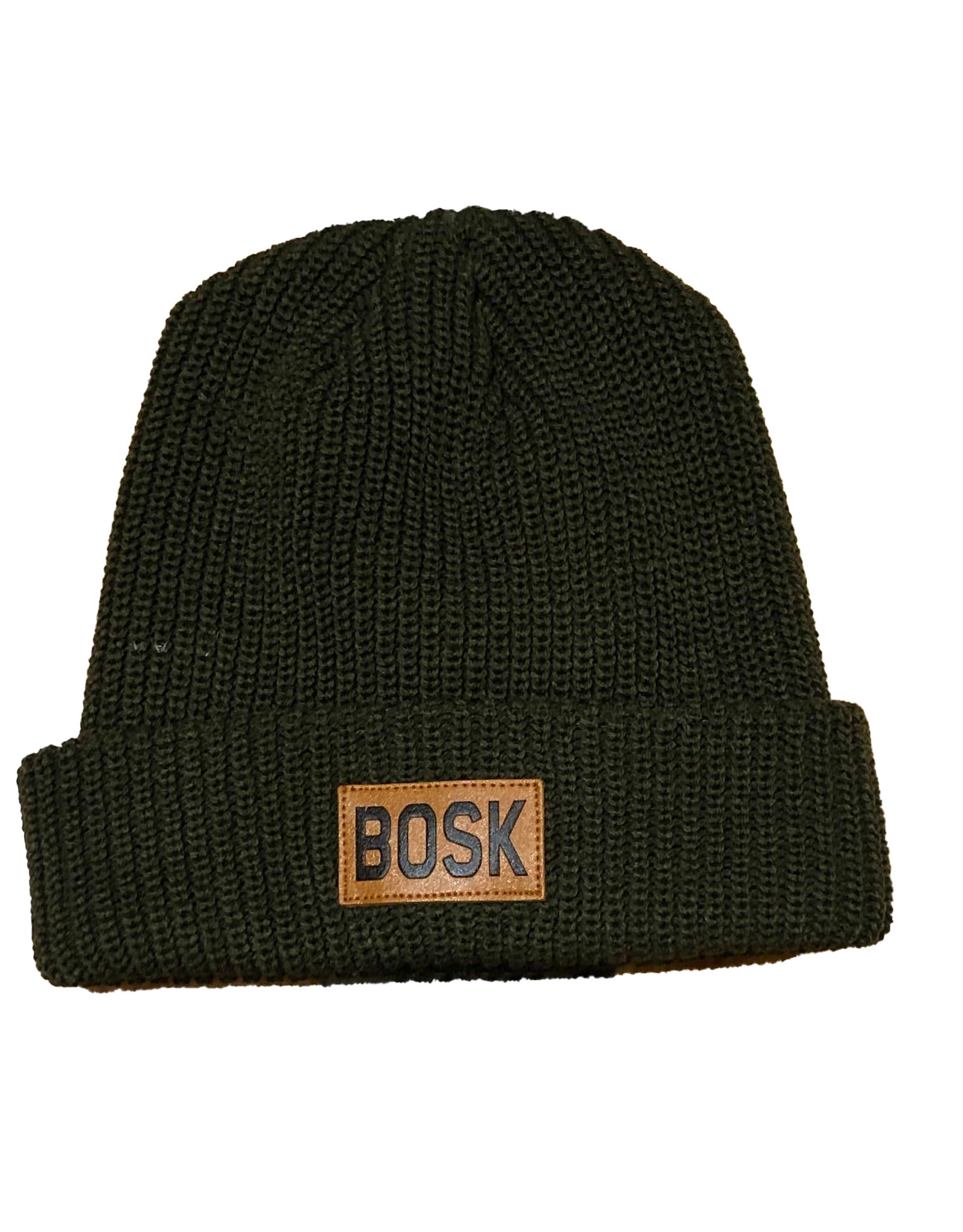 Tuque Bosk Mixed Trouble  Leather Patch