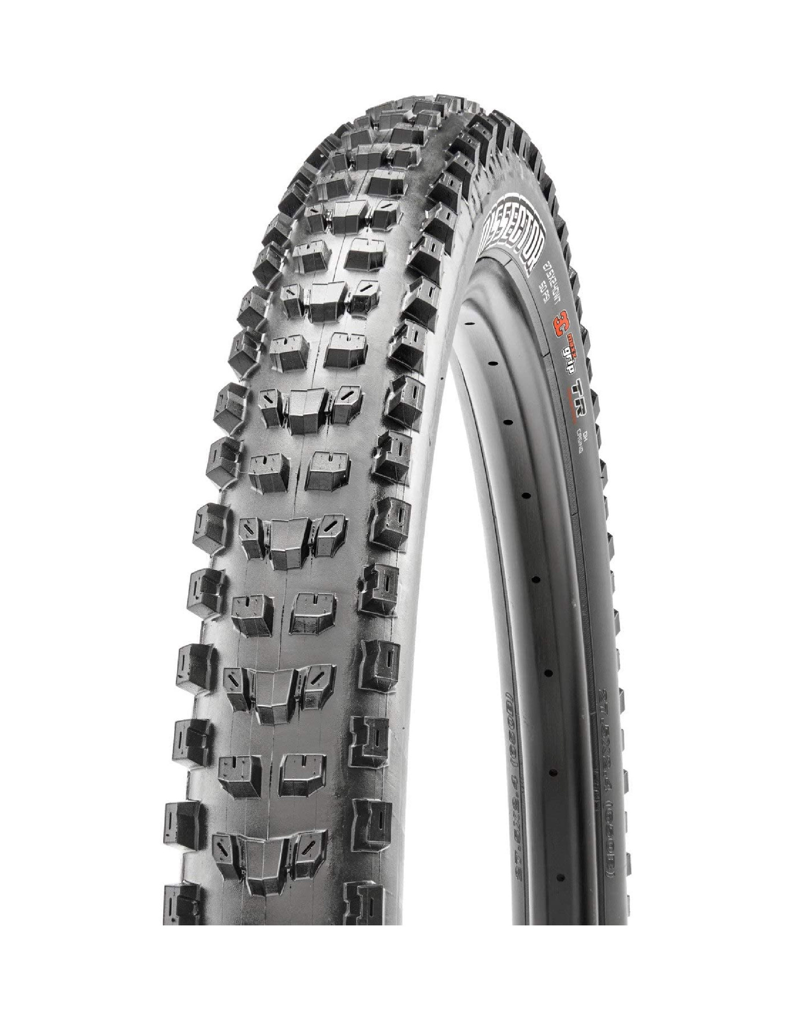 Maxxis Maxxis, Dissector, Tire, 29''x2.40, Folding, Tubeless Ready, 3C Maxx Grip, Double Down, Wide Trail, 120x2TPI, Black