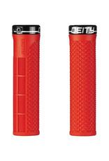 Deity Deity, LockJaw, Grips, 132mm, Red, Pair
