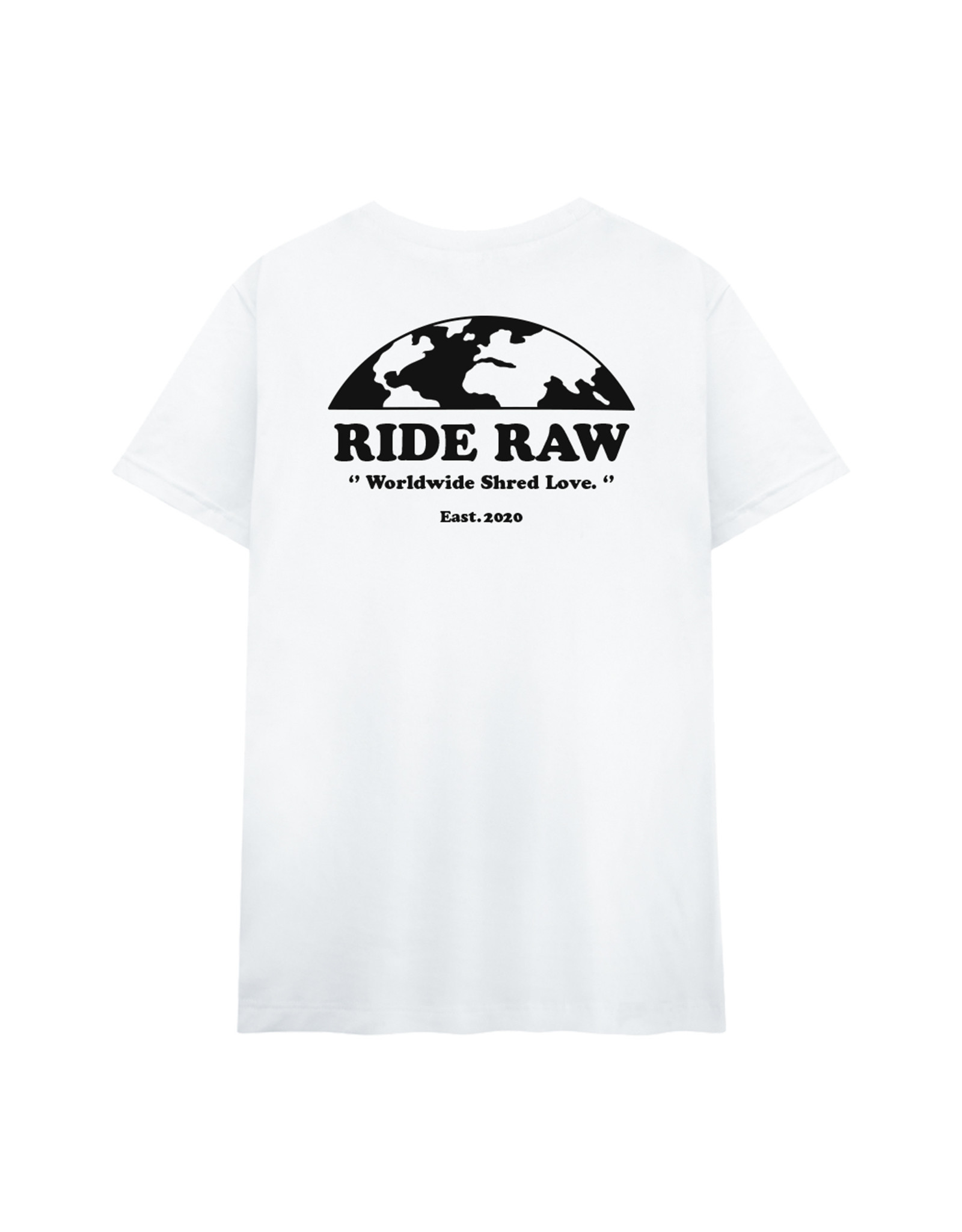 Ride Raw Ride Raw Shred Love Tee