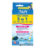 API 5 IN 1 TEST STRIPS  25COUNT