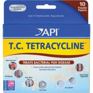 API T.C. TETRACYCLINE  POWDER PK