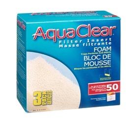 Aqua Clear Aqua Clear 50 (200) Foam 3Pk