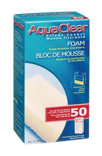 Aqua Clear Aqua Clear 50 (200) Foam Filter Block
