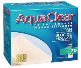Aqua Clear Aqua Clear 70 foam 3pk