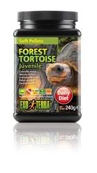Exo Terra Forest Tortoise Juvenile 8.4 oz Soft Pellets