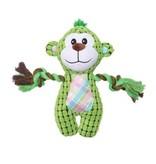 Dogit DogIt Stuffies Nubby Green Monkey