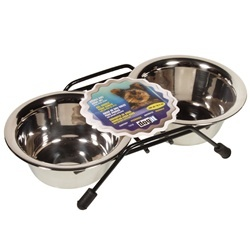 Dogit SS double Dish Small