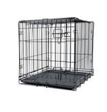 Dogit Dogit Single Door Metal Dog Crate 24in