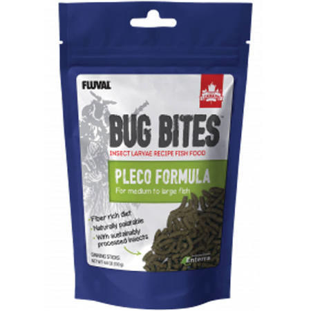Hagen Fluval Bug Bites M-L Pleco Sticks 4.6oz