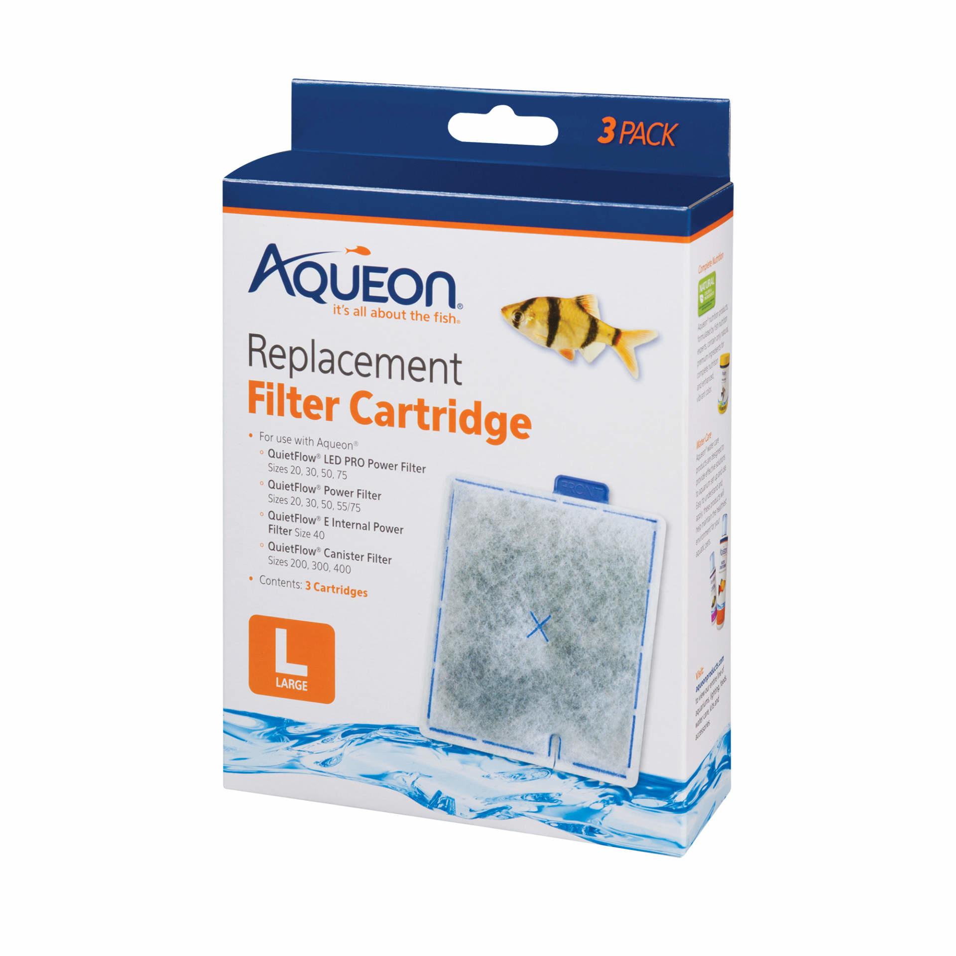 Aqueon Aquem Cart lg 3pack