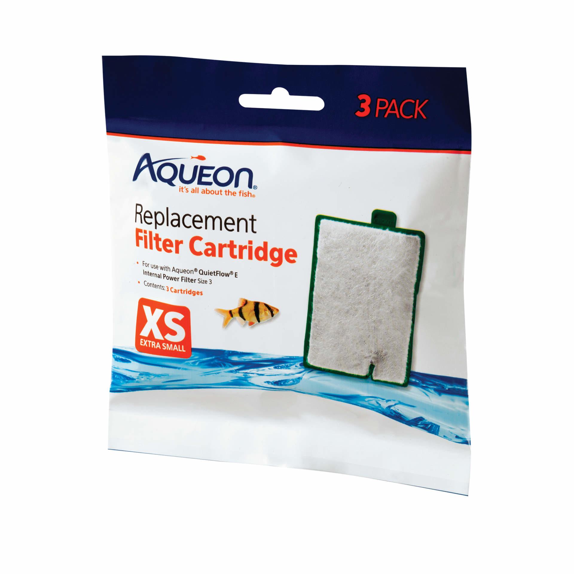 Aqueon Aqueon Filter Cartridges XS 3pk