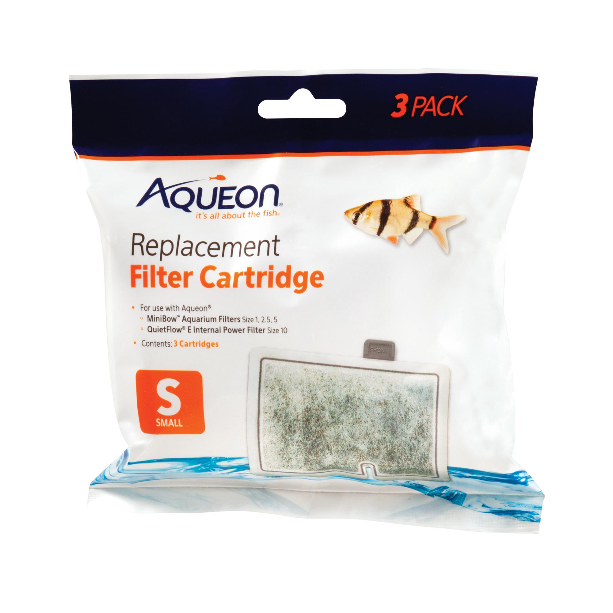 Aqueon Aqueon Filter  CARTRIDGE SML 3PK