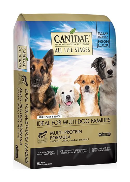 Canadae All Life Stages Multi Protien less active 30 lbs