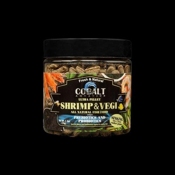 Cobalt Shrimp and Vegi