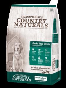 Grandma mae's COUNTRY NATRLS GRAIN FREE 28 LB
