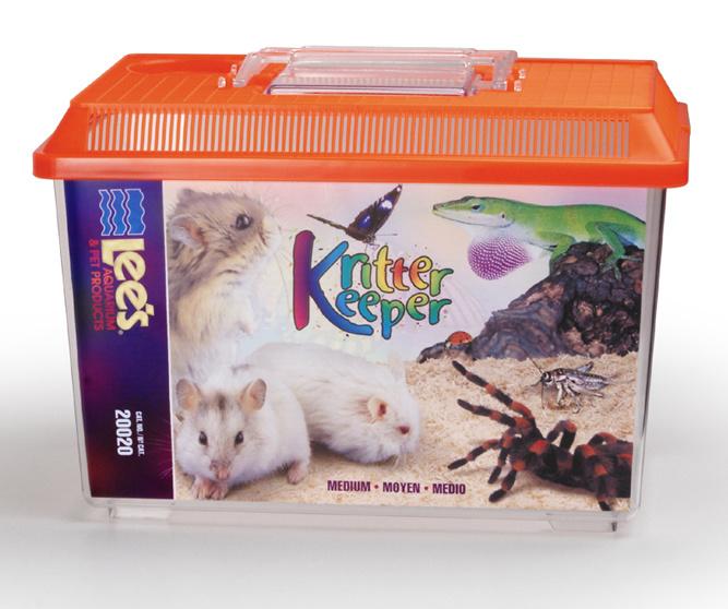 Lee's KRITTER KEEPER RECT MED