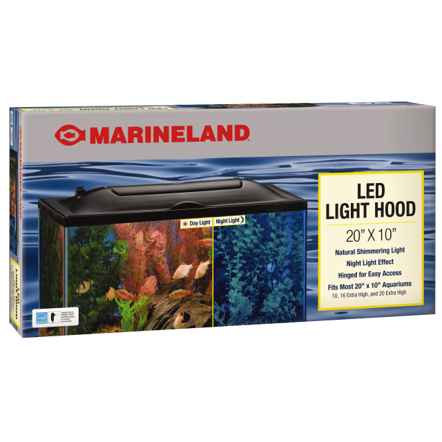 Marineland GLASS CANOPY 20X18IN CUBE/COL
