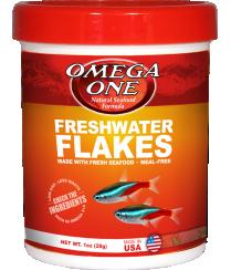 Omega Sea Freshwater Flakes 1 oz