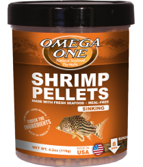 Omega Sea Shrimp Pellets 2.1 5OZ
