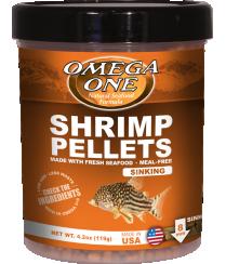 Omega Sea Shrimp Pellets 4.5 oz