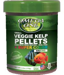 Omega Sea Sinking Super Color Pellets Veggie 8oz