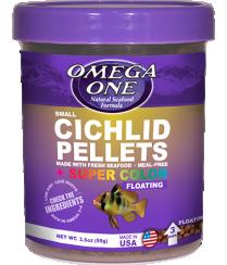 Omega Sea Small Cichlid Pellets 3.5 oz