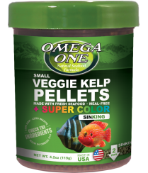 Omega Sea Super Color  Pellets Veggie 4.2 oz