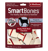 Smart Bone Medium chicken 4 pk
