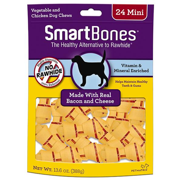 Smart Bone Mini Bacon/ Cheese 24 pk