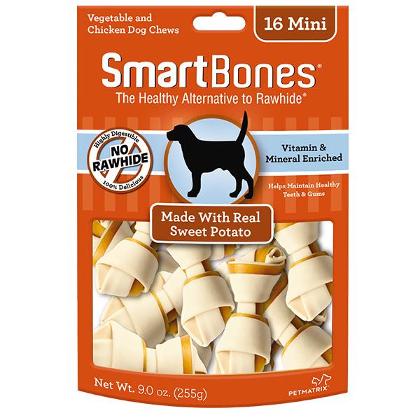 Smart Bone Mini Sweet potato 16 pk