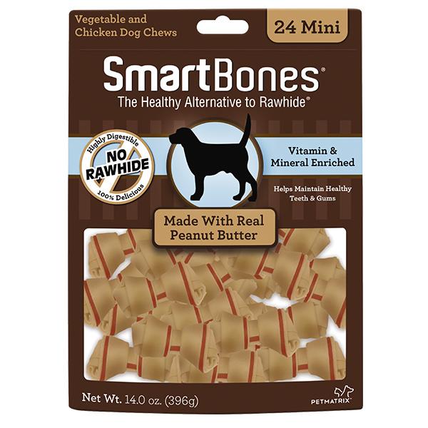 Smart Bone Peanut Butter 24 mini