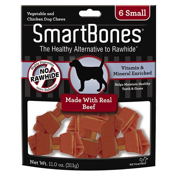 Smart Bone Small 6 pk Smart bone Beef