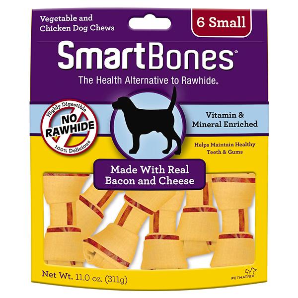 Smart Bone Small Bacon / Cheese 6 pk