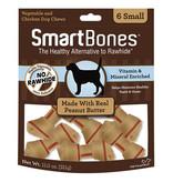 Smart Bone Small Peanut Butter 6 pk