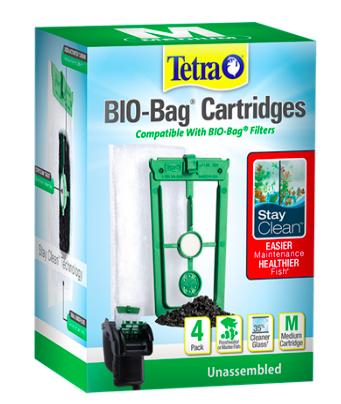 Tetra Stay Clean Bio Bag 4 pk