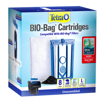 Tetra Stay Clean Bio Bag 8 pk Large