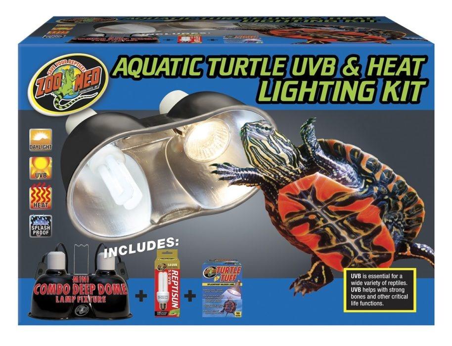 Zoo Med AQ TURTLE UVB/HEAT LIGHT KIT