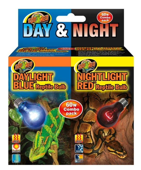 Zoo Med DAY & NIGHT COMBO PACK 60W