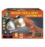 Zoo Med DESERT UVB/HEAT LIGHT KIT