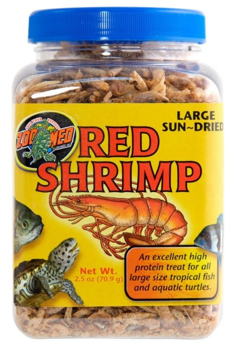 Zoo Med JUMBO DRIED RED SHRIMP .5 oz
