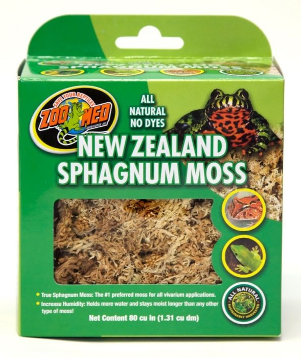 Zoo Med NEW ZEAL SPHAGNUM MOSS 80CI