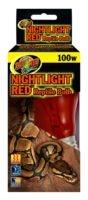 Zoo Med NIGHTLIGHT RED BULB 100W