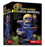 Zoo Med Repti Rapids Skull LED waterfall kit small