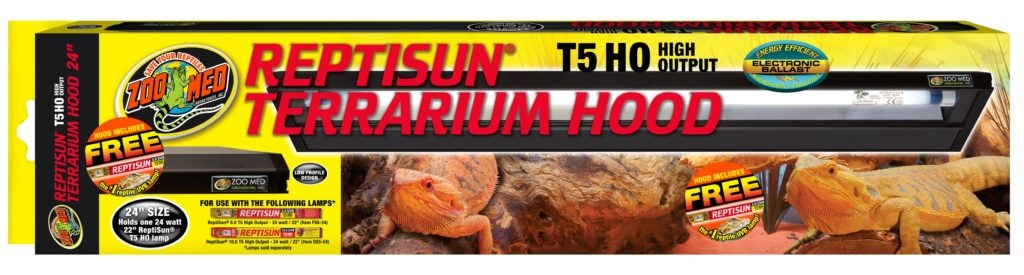 Zoo Med t5 HO Terrarium Hood