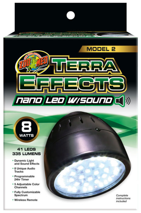 Zoo Med Terraeffects LED Nano with sound