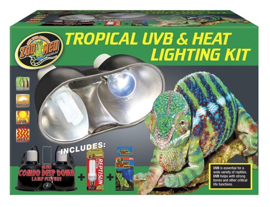 Zoo Med TROPICAL UVB/HEAT LIGHT KIT