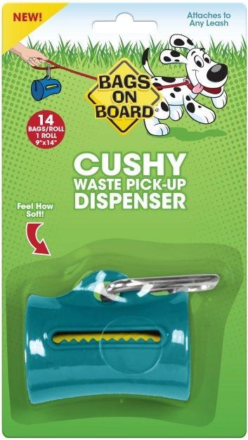 Bag On Board dispenser with bag
