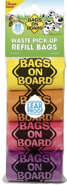 Bags On Board 4 pk