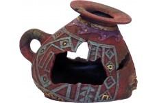blue ribbon Ornamental Incan vase EE-824